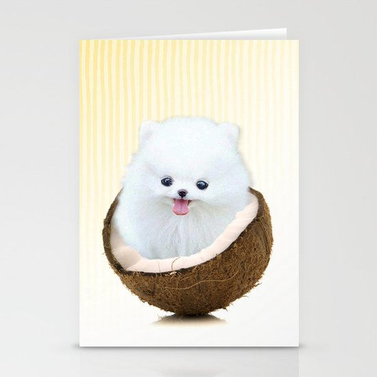 coconutty Stationery Card