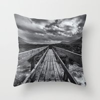The Bridge Throw Pillow
