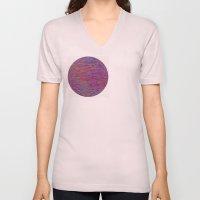 23-02-45 (Pink Lady Glitch) Unisex V-Neck
