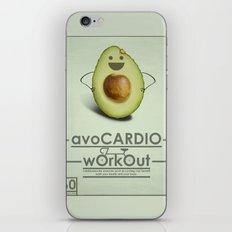 avoCARDIO workout iPhone & iPod Skin