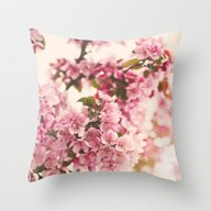 Throw Pillow featuring Blossoms  by Laura Ruth