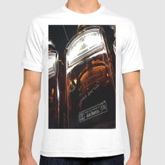 Single Jack SMALL Mens Fitted Tee White