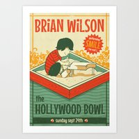 Smile Live At The Hollyw… Art Print