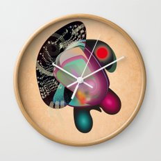 Dissection (of a thought) Wall Clock