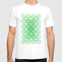 Geometric Abstraction II… Mens Fitted Tee White SMALL