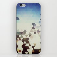 Triangle Space iPhone & iPod Skin