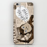 Bizarro Monkey iPhone & iPod Skin