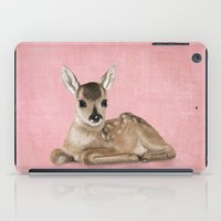Portrait Of A Small Fawn… iPad Case