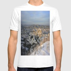 The Bad Lands of North Dakota Mens Fitted Tee White SMALL