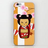 Kokeshi Ai  iPhone & iPod Skin