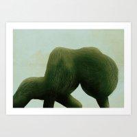 """皮毛""no.1 Art Print"