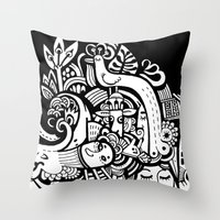 Puisto Throw Pillow
