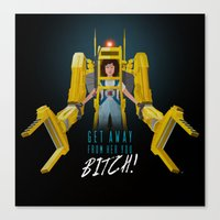 Get Away From Her You BI… Canvas Print