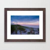 Dunes at Dawn Framed Art Print