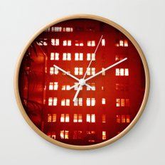 Everyone Is Awake Wall Clock