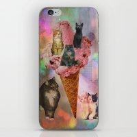 The cat's that got the cream! iPhone & iPod Skin