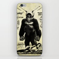 Robot Monster iPhone & iPod Skin