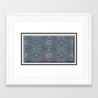 Lacy Design Framed Art Print