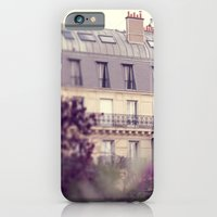 iPhone & iPod Case featuring paris charm by Liz Rusby