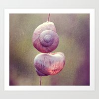 Escargot Art Print