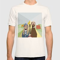 Nuts In May (West Countr… Mens Fitted Tee Natural SMALL