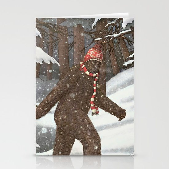 Everyone Gets Cold Stationery Card