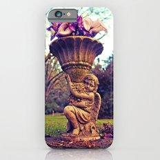 Graveyard statue iPhone 6 Slim Case