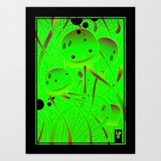 squids Art Print