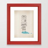 Wierd Framed Art Print