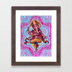 Ganesha (Color Variation 5) Framed Art Print