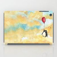 Penguin and a Red Balloon iPad Case