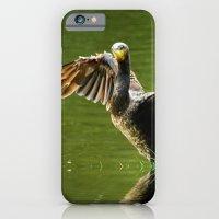 Cormorant flight iPhone 6 Slim Case