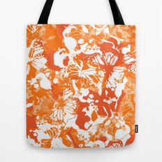 My orange butterflies Tote Bag