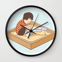 Brian's Sandbox Wall Clock