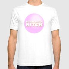 Bubblegum Bitch / Marina & The Diamonds Mens Fitted Tee White SMALL