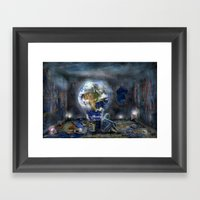 Save Our World Framed Art Print