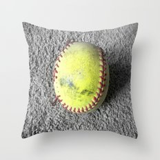 The Softball Throw Pillow
