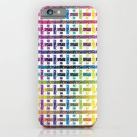 Stripes In Colours iPhone 6 Slim Case