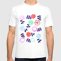 Daisy Dallop Mens Fitted Tee White SMALL