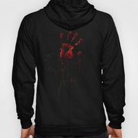 Zombie Attack Bloodprint - Halloween Hoody