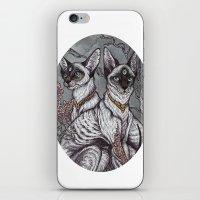 Gift of Sight art print iPhone & iPod Skin