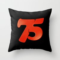 75 Throw Pillow