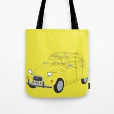 Citroën 2CV Tote Bag