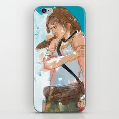Tomb Raider iPhone & iPod Skin