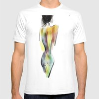 Je T'aime Mens Fitted Tee White SMALL