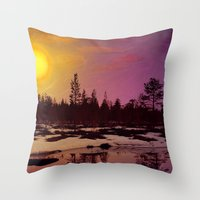 Day - From Day And Night… Throw Pillow