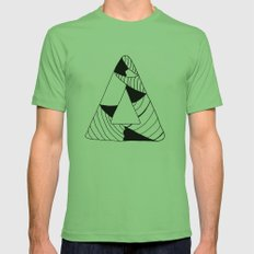 Personal Stormer Triangle Mens Fitted Tee Grass SMALL