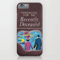 iPhone Cases featuring Beetlejuice - Handbook for the recently deceased by Elanor Jarque