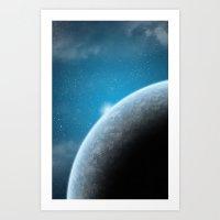 Blue Planet Art Print