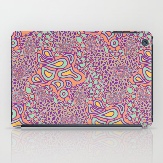Cell Floral iPad Case